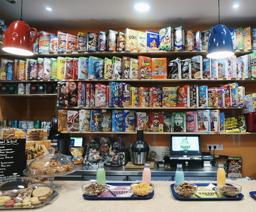 Cereal Talent cafe