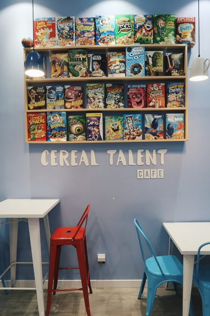 Cereal talent madrid